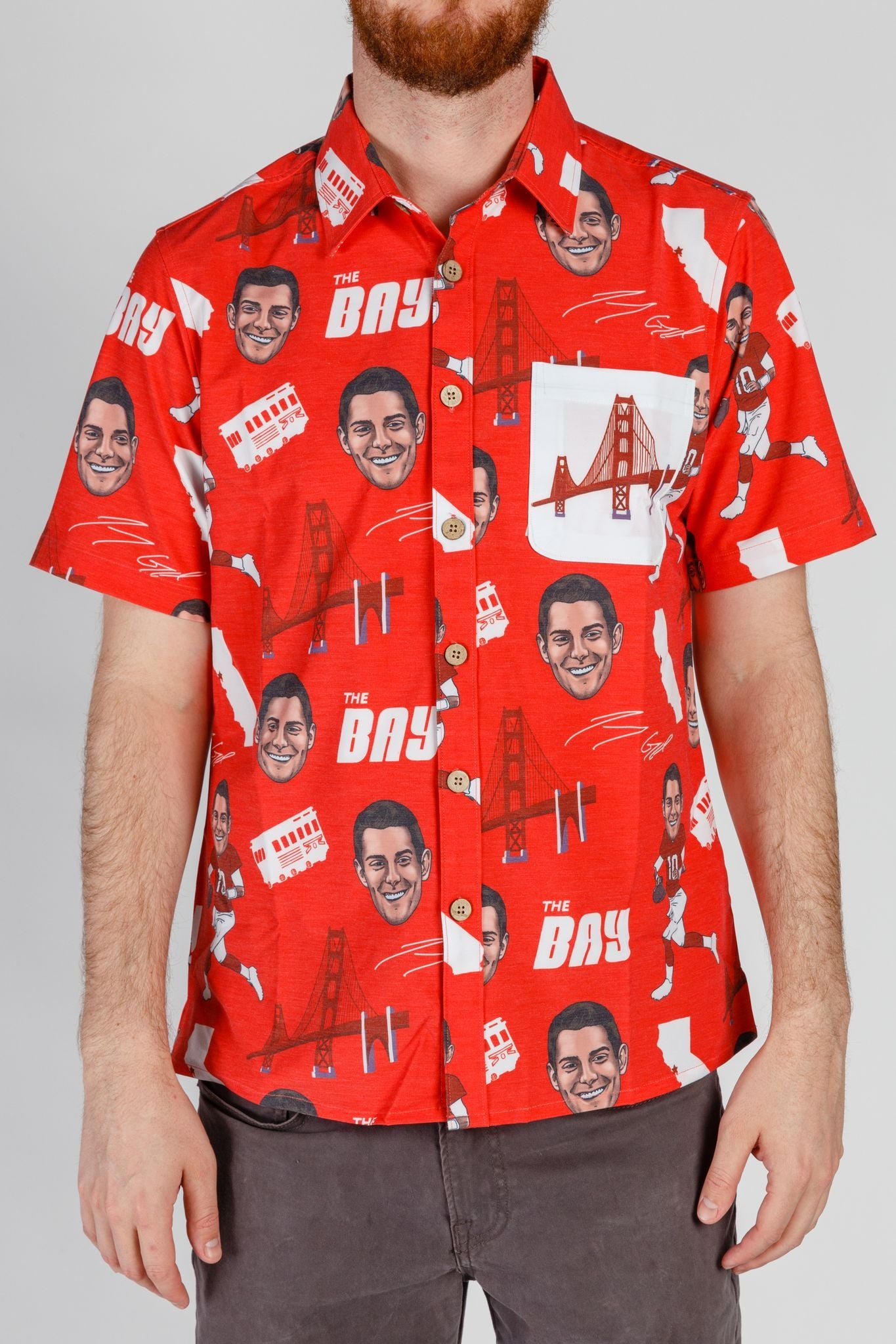 Jimmy Garoppolo 49ers Hawaiian Shirt