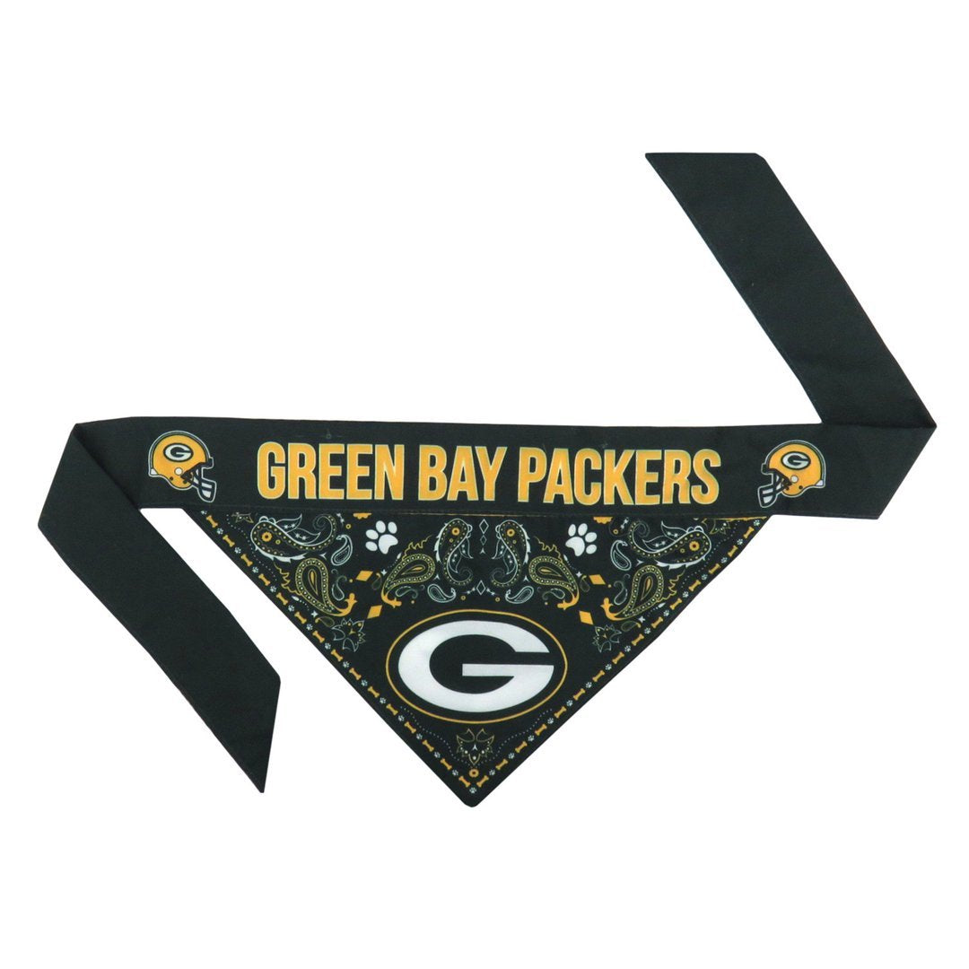 GB Packers Logo Bandana For Dogs