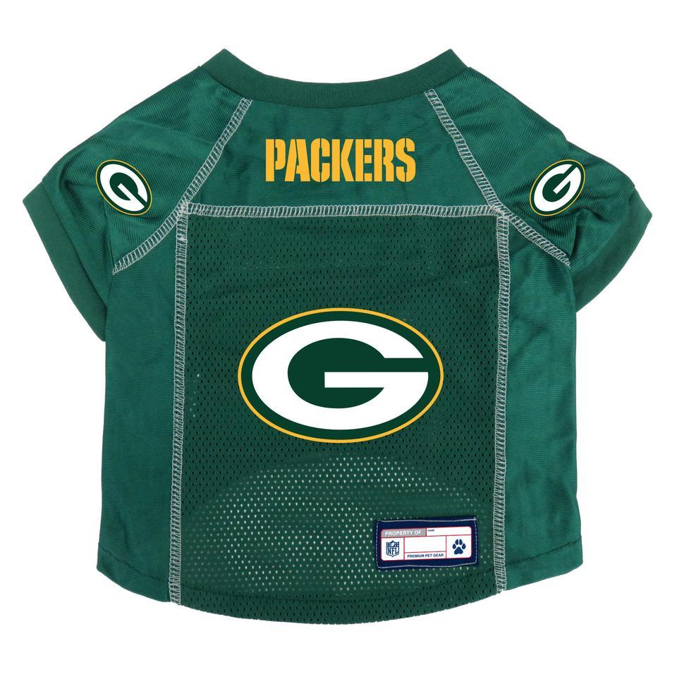 Green Bay Packers NFL pet jersey