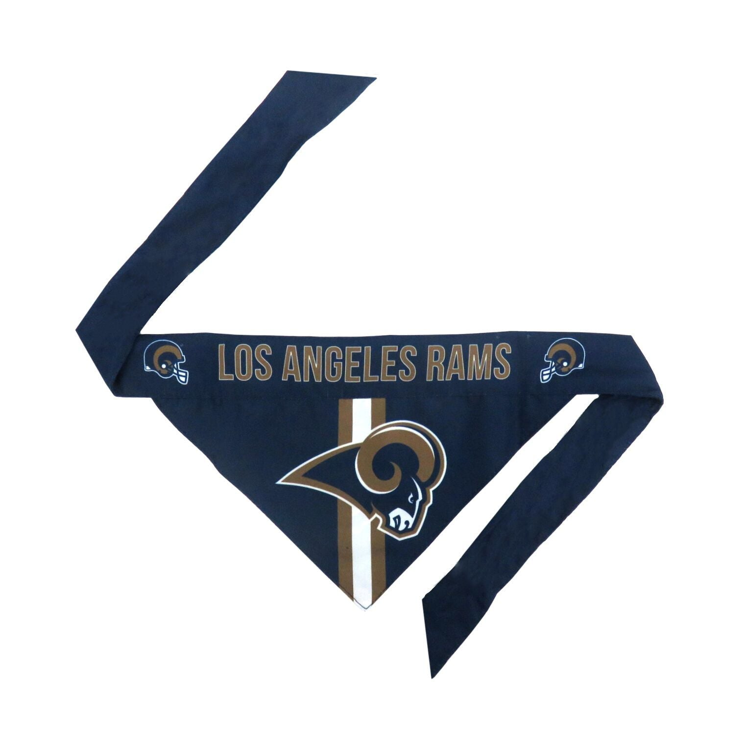 LA Rams Football Bandana for Pets