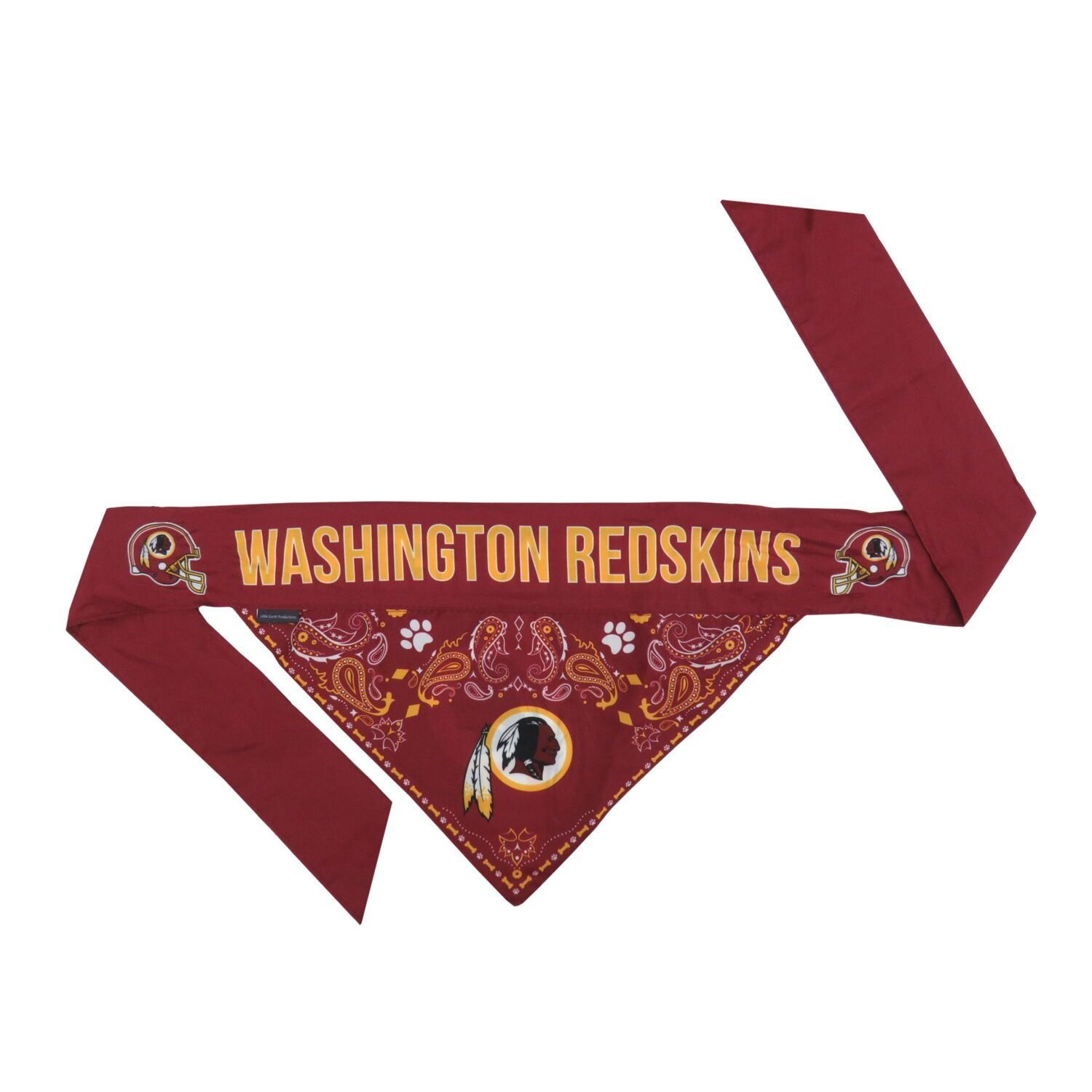Redskins Logo Bandana For Dogs