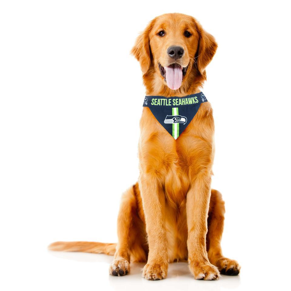 Seattle Seahawks NFL Pet Bandana