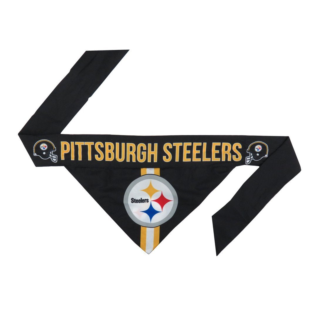 Steelers Football Bandana for Pets