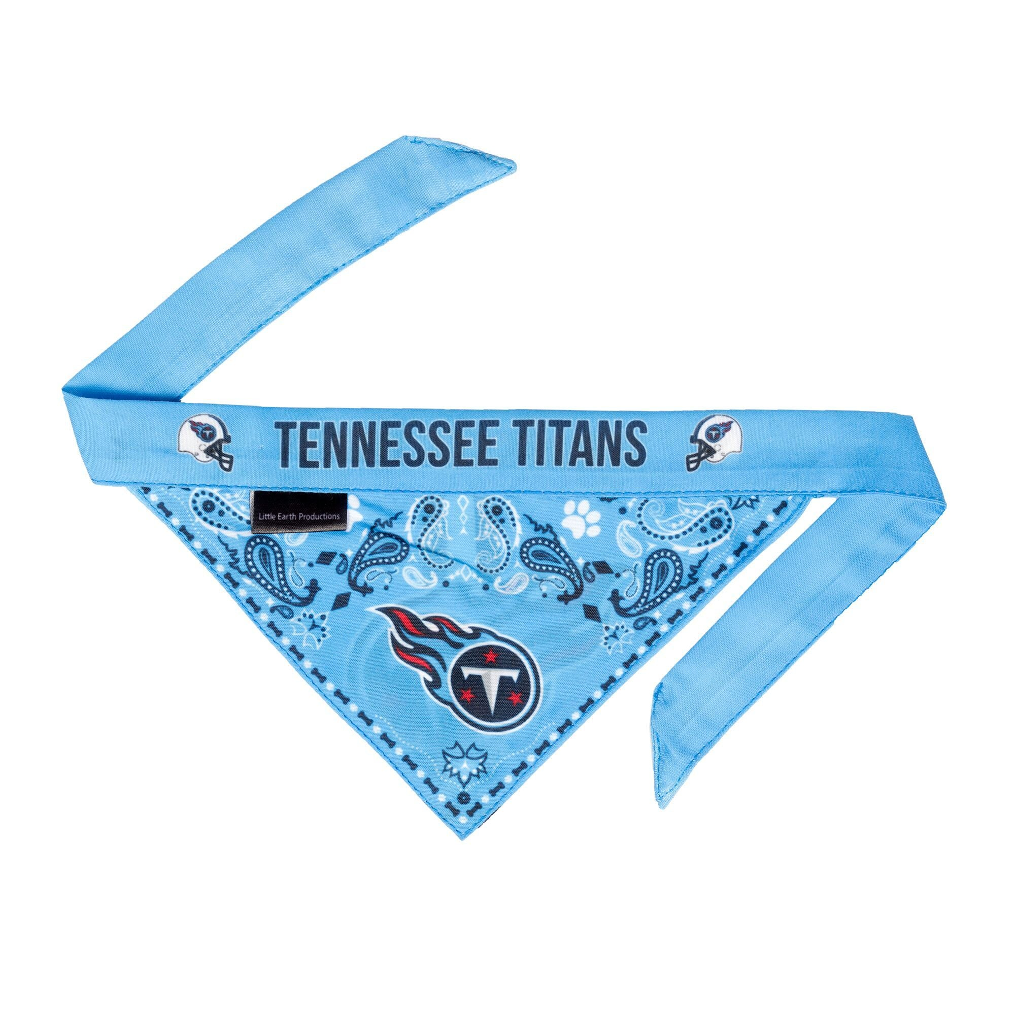 Titans Football Bandana for Cats and Dogs