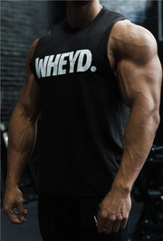 WHEYD Male Muscle Tank