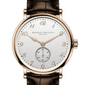 Hercule - Rose Gold 38MM, Dark Brown