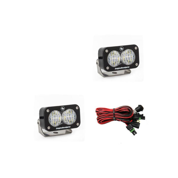BAJA DESIGNS S2 PRO WIDE CORNERING LED LIGHTS, PAIR