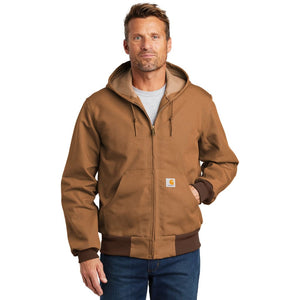 Carhartt ® Thermal-Lined Duck Active Jac - S / Carhartt Brown