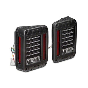 DV8 Offroad LED Tail Lights - Pair - JK