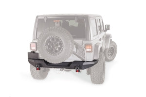 Warn Elite Series Rear Bumper -Not Compatible w/Tire Carrier - JL