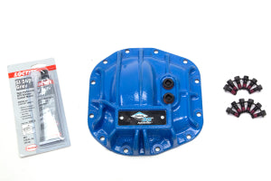 Dana 35 AdvanTEK Rear Differential Cover Kit Blue - JL