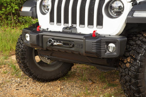 Rugged Ridge Spartacus Stubby Front Bumper, Black  - JL