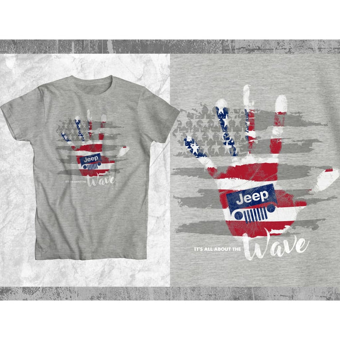 It's All About The WAVE Uni-sex T-Shirt | Jeep Clothing | Jeep Apparel