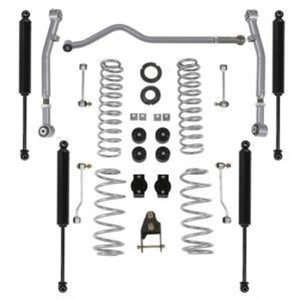 Jeep JLU 4DR: RUBICON EXPRESS - 3.5 Inch Standard Coil Lift Kit with Twin Tube Shocks