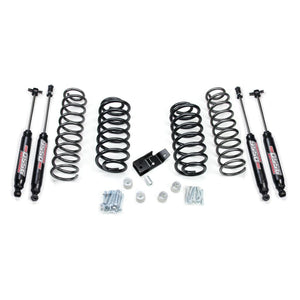 Jeep TJ/LJ: TERAFLEX - 2 Lift Kit w/ 9550 Shocks