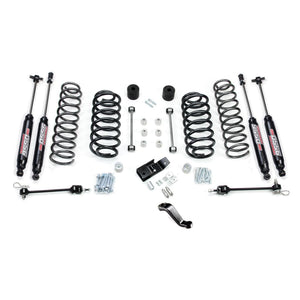 Jeep TJ/LJ: TERAFLEX - 4 Lift Kit w/ 9550 Shocks