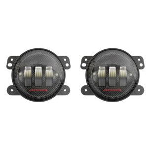 JW SPEAKER 6145 J2 LED CARBON FIBER 4IN LED FOG LIGHT KIT