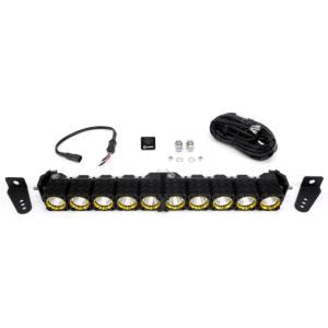 KC HILITES 20IN FLEX ARRAY LED LIGHT-BAR EXPANDABLE SPOT/SPREAD PATTERN