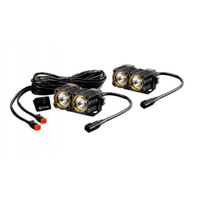Phenomenal Kc Hilites A Pillar Windshield Light Mount Kit W Flex Led Lights Wiring Cloud Hisonuggs Outletorg