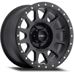 Method Race Wheel 305 Series NV Wheel Matte Black 17x8.5 6x135