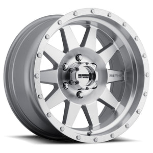 Method Race Wheel The Standard 301 Wheel Black w/Machined Lip 17x9 5x5 - JK/JL