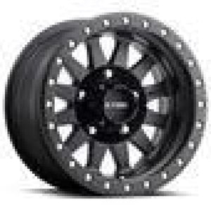 Method Race Wheels Double Standard Matte Black 15x8 5x4.5 - TJ/LJ