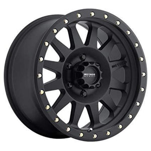 Method Race Wheels Double Standard Series Wheel Matte Black 17x8.5 5x5 - JK/JL