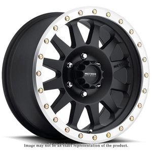 Method Race Wheels Double Standard Series Wheel Matte Black w/Machined Lip 17x8.5 5x5 - JK/JL