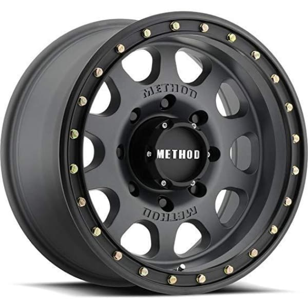 Method Race Wheels MR311 Titanium Vex non-Beadlock Wheel, Matte Black 17x8.5 5x5  - JK/JL