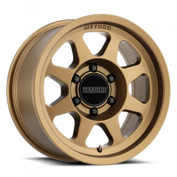 Method Race Wheels MR701 Centerbore Bronze Wheel 17x8.5 8x6.5