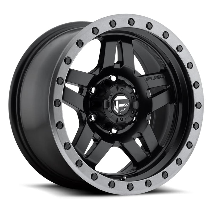 MHT Luxury Alloys Anza Wheel Matte Black 17x8.5 5x5 - JK/JL