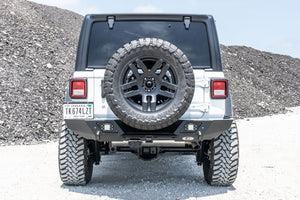 LOD Destroyer Full Width Rear Bumper Only, Black  - JL