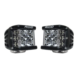 RIGID INDUSTRIES D-SS PRO SIDE SHOOTER LED CUBE FLOOD PAIR