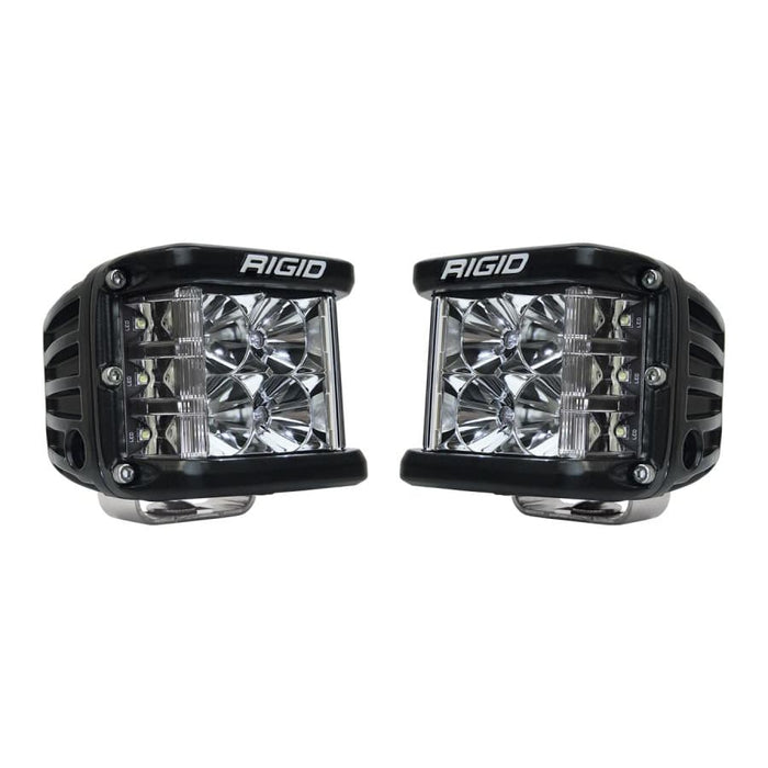RIGID INDUSTRIES D-SS PRO SIDE SHOOTER LED CUBE, FLOOD PAIR