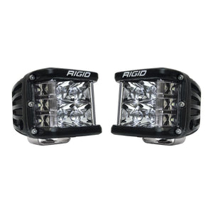 RIGID INDUSTRIES D-SS PRO SIDE SHOOTER LED CUBE SPOT PAIR