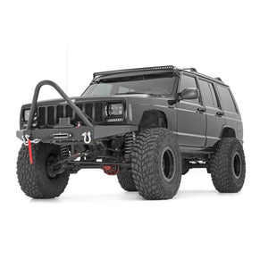 ROUGH COUNTRY BLACK SERIES SINGLE ROW CURVED LIGHT BAR 50 or 30IN