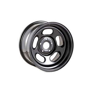 Rugged Ridge Black Steel Wheel Hub 17x9 5x5 - JK/JL