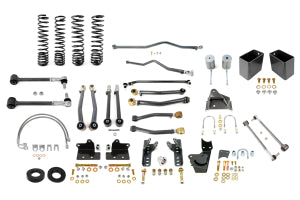 Synergy Manufacturing Stage 3 Suspension System 4in Lift 2dr - JK