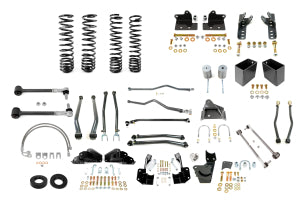 Synergy Manufacturing Stage 4 Suspension System 4in Lift 2dr - JK