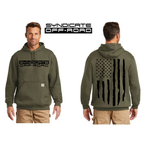 Syndicate Off-Road Carhartt Hoodie (Moss Green)