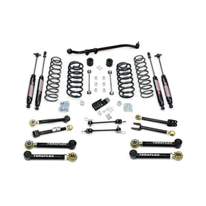 TJ/LJ - Teraflex 3in Lift Kit W/8 Flexarms Trackbar & 9550 Shocks