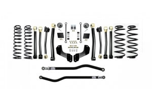 EVO Manufacturing 2.5in Enforcer Overland Lift Kit, Stage 4 - PLUS - JL