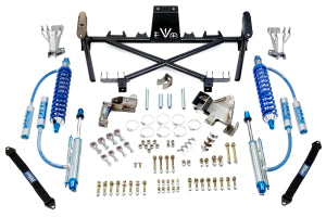 VO Manufacturing Double Throwdown EVO lever System w/ Coilvers and Bypass Rear - JK