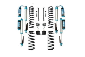 EVO Manufacturing 2.5in Enforcer Lift Kit w/Shocks Stage 1-4 - JL