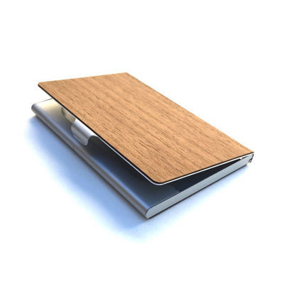 TIMBER Woodskin Business Card Holder