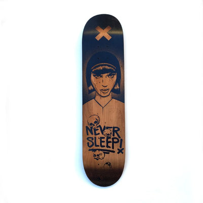 Laser Engraved Skatedeck - Limited Edition Zoer