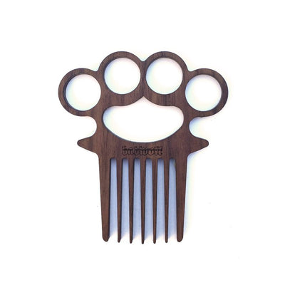 BadWold 'Vago' Knuckle Duster Beard Comb