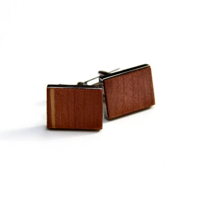 TIMBER Woodskin Cufflinks