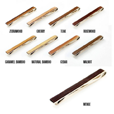 TIMBER WOODSKIN STEEL TIE BAR
