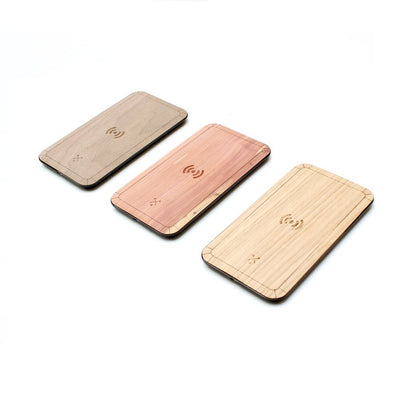 TIMBER Qi Wireless Wood Skin Charging Pad